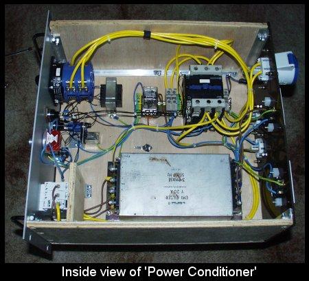 Tesla Coils Power Conditioner